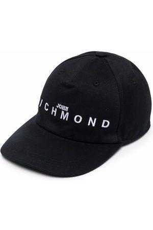 John Richmond Homem Chapéus - Embroidered-logo cap