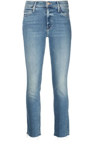 Mother Senhora Skinny - Faded slim-cut jeans