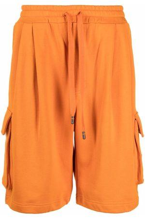 Dolce & Gabbana Logo-plaque cargo shorts