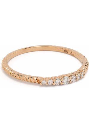DJULA 18kt rose gold Accumulation diamond ring