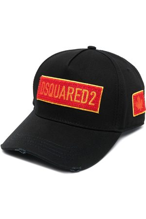 Dsquared2 Homem Chapéus - Embroidered-logo six-panel cap