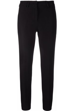 BLANCA Cropped straight-leg trousers