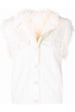 Pinko Senhora Coletes - Faux-shearling jacket