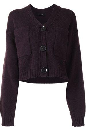 Proenza Schouler Senhora Camisolas - Eco cashmere cardigan