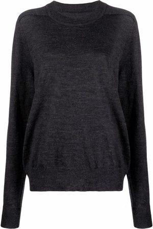 Maison Margiela Four-stitch wool jumper