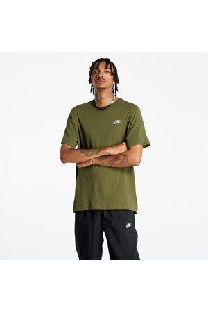 Nike Homem T-shirts desportivas - Sportswear Club Men's T-Shirt Rough / White