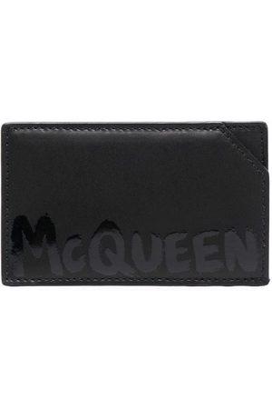 Alexander McQueen Homem Bolsas & Carteiras - Graffiti-logo cardholder