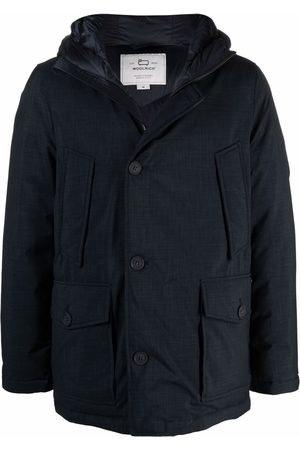 Woolrich Homem Casacos de Inverno - Button-up padded hooded coat