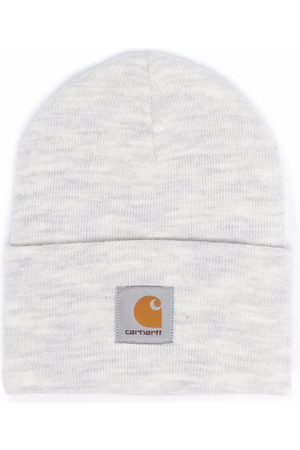 Carhartt Homem Chapéus - Logo-patch knitted beanie