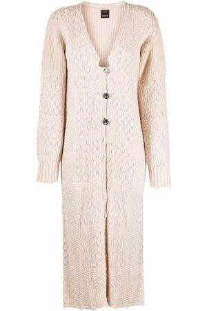 Pinko Long-length knitted cardigan
