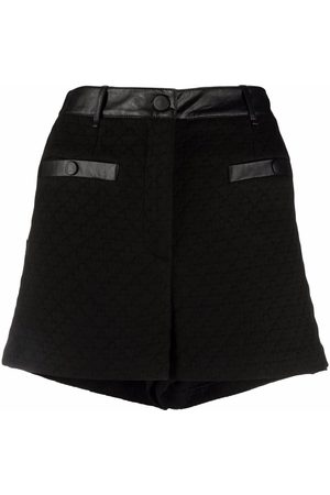 Pinko High-rise fitted shorts