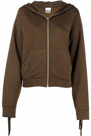Pinko Tassel-trimmed hoodie