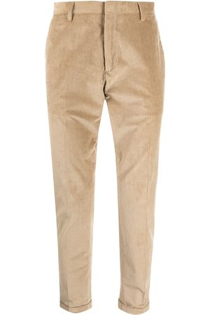 PAUL SMITH Homem Calças Formal - Ribbed pressed-crease trousers