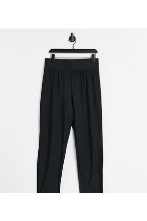 ASOS Senhora Leggings & Treggings - ASOS DESIGN Curve legging with high waist in matte sheen in black