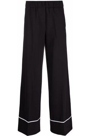 OFF-WHITE LIGHT WOOL PULL ON PANT NO COLOR