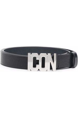 Dsquared2 Senhora Cintos - Logo buckle belt