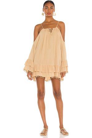 Lovers + Friends Tropical Oasis Dress in - Tan. Size L (also in M, S, XS, XXS).