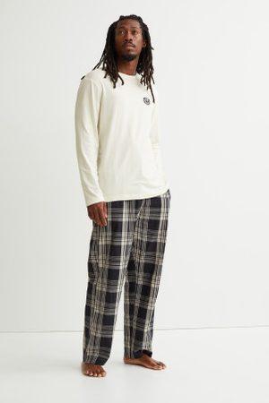 H&M Pijama em algodão
