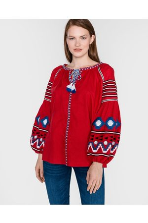 Replay Blouse Red
