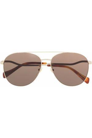 Gucci Eyewear Senhora Óculos de Sol - Tinted aviator sunglasses