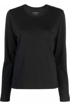 Isabel Marant Senhora Sweatshirts de Manga larga - Alka long-sleeved T-shirt