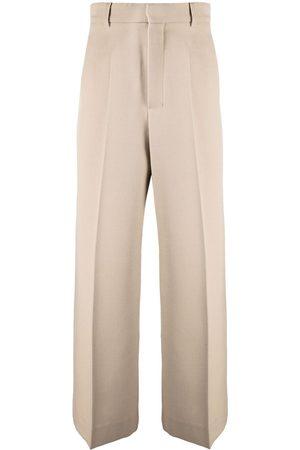 Ami High-waisted palazzo pants