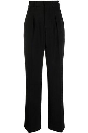 Ami Senhora Calças Formal - Tailored high-waisted trousers
