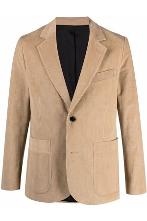 Ami Homem Blazers - Single-breasted corduroy blazer