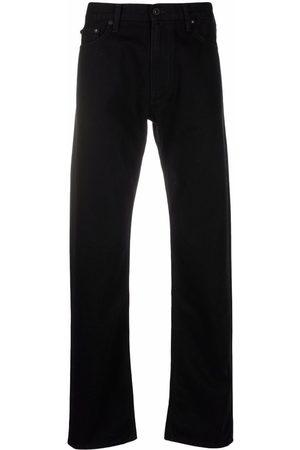 OFF-WHITE Homem Retos - Diagonals print straight-leg jeans