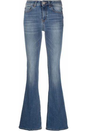 Pinko Senhora Bootcut & Boca-de-sino - Flared high-rise jeans
