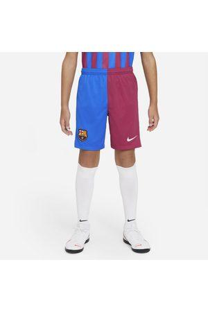 Nike Calções de futebol do equipamento principal/alternativo Stadium FC Barcelona 2021/22 Júnior