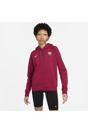 Nike Senhora Camisolas com capuz - Hoodie pullover de lã cardada FC Barcelona para mulher