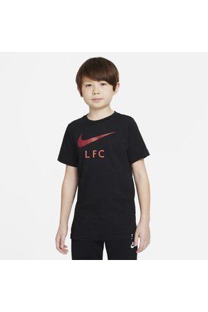 Nike Menino T-shirts & Manga Curta - T-shirt de futebol Liverpool FC Júnior