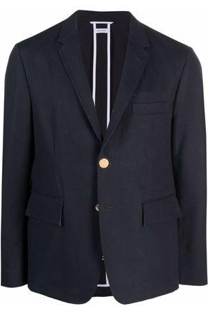 Thom Browne Homem Blazers - Single-breasted tailored blazer