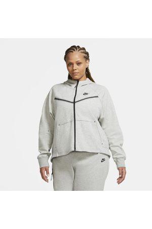 Nike Hoodie com fecho completo Sportswear Tech Fleece Windrunner para mulher (tamanhos grandes)