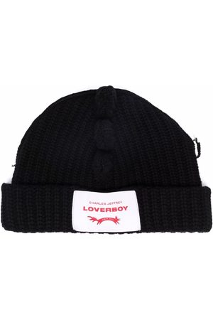 Charles Jeffrey Loverboy Chapéus - Chunky Spikes knitted beanie