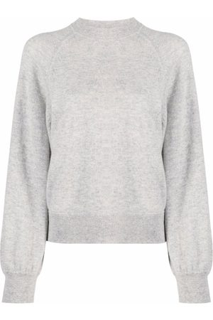 Loulou Studio Senhora Camisolas - Melange-effect crewneck sweater