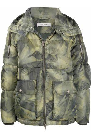 Golden Goose Homem Casacos de Inverno - Camouflage-print padded coat