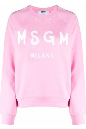 Msgm Logo crew-neck jumper