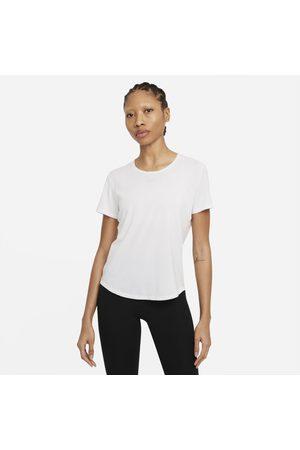 Nike Senhora T-shirts desportivas - Camisola de manga curta com corte padrão Dri-FIT One Luxe para mulher