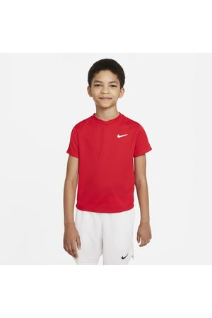 Nike Menino T-shirts & Manga Curta - Camisola de ténis de manga curta Court Dri-FIT Victory Júnior (Rapaz)
