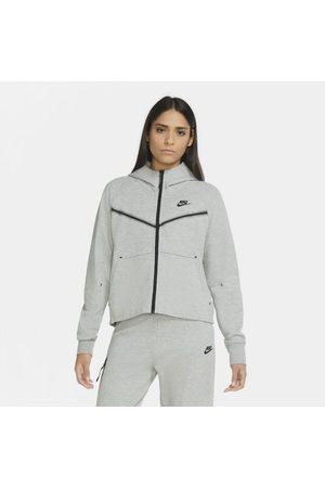 Nike Senhora Camisolas com capuz - Hoodie com fecho completo Sportswear Tech Fleece Windrunner para mulher
