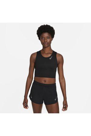 Nike Senhora Camisolas sem capuz - Camisola de running sem mangas recortada Dri-FIT Race para mulher