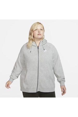 Nike Senhora Camisolas com capuz - Hoodie com fecho completo Sportswear Essential para mulher (tamanhos grandes)