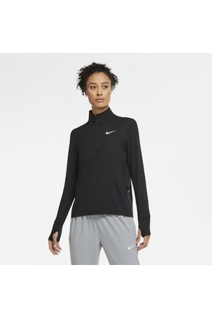 Nike Senhora Camisolas sem capuz - Camisola de running com fecho até meio para mulher