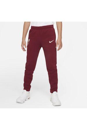 Nike Calças - Calças de futebol de lã cardada Liverpool FC Júnior