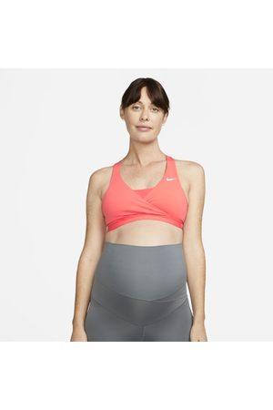 Nike Sutiã de desporto almofadado de suporte médio (M) Swoosh para mulher (Maternity)