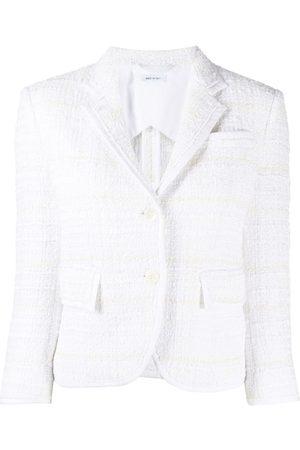 Thom Browne Tweed single-breasted blazer