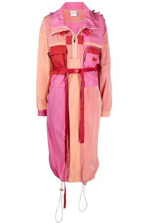 Stella McCartney Senhora Parkas - Maia colour-block parka coat