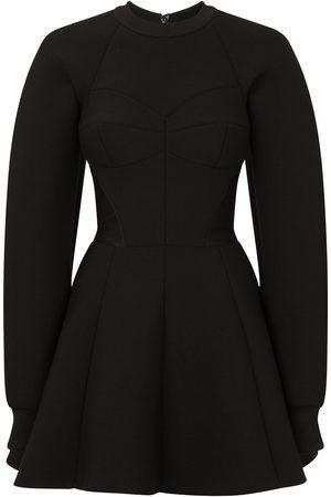 Dolce & Gabbana Senhora Vestidos de Festa - Flared fitted-waistline dress
